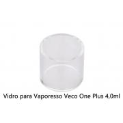 Vidro para vaporizador Vaporesso Veco One Plus / Veco Solo Plus 4ml.  - 24,5mm diâm./24,5mm alt.