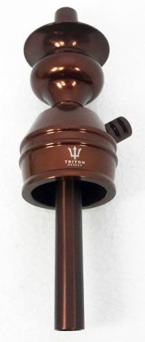 Stem (corpo de narguile) TRITON ZIP, em alumínio maciço, 22cm. - Cores Variadas