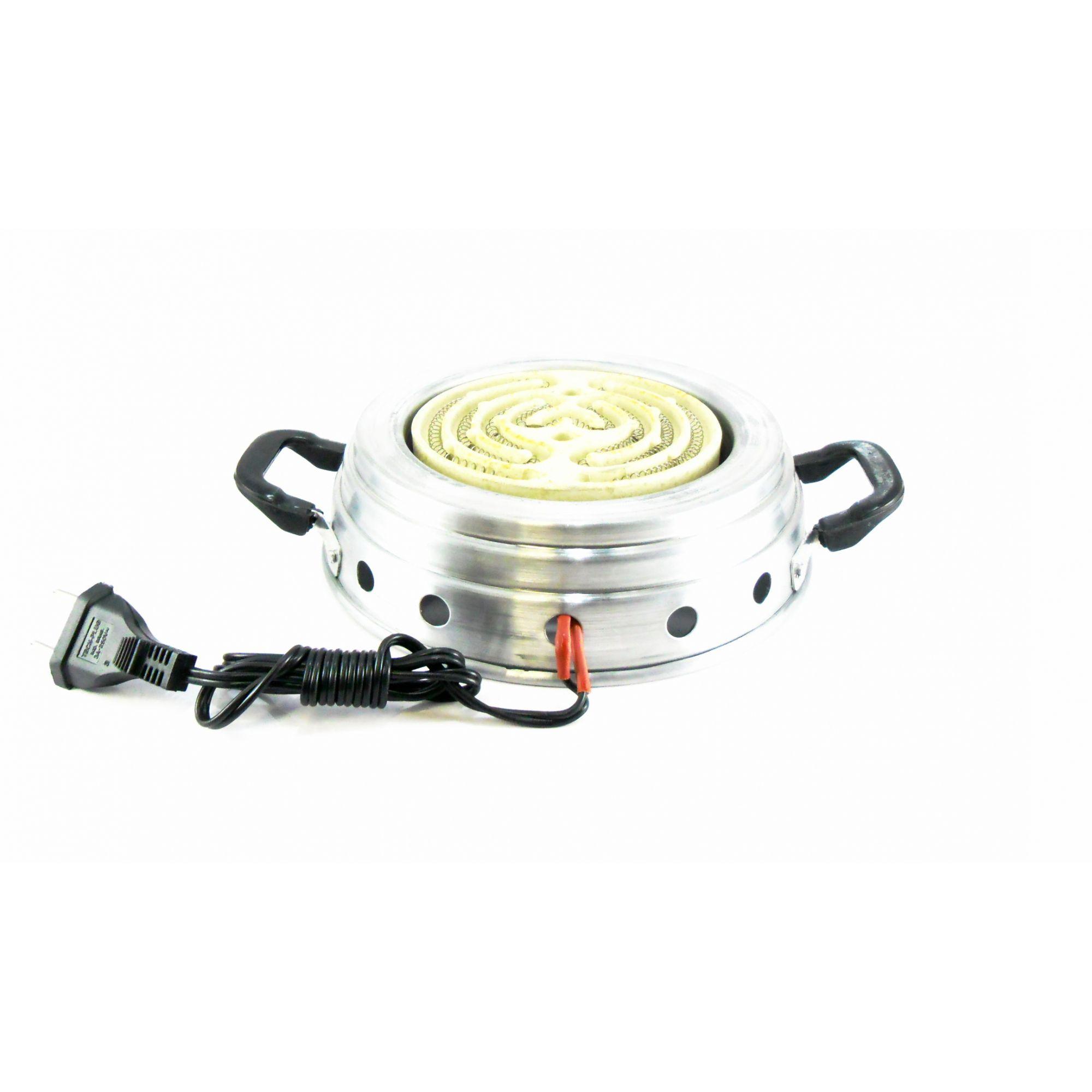 2 KITS COM: Narguile completo JUDITH 33cm, fogareiro, pinça, controlador de calor e carvão 1kg.