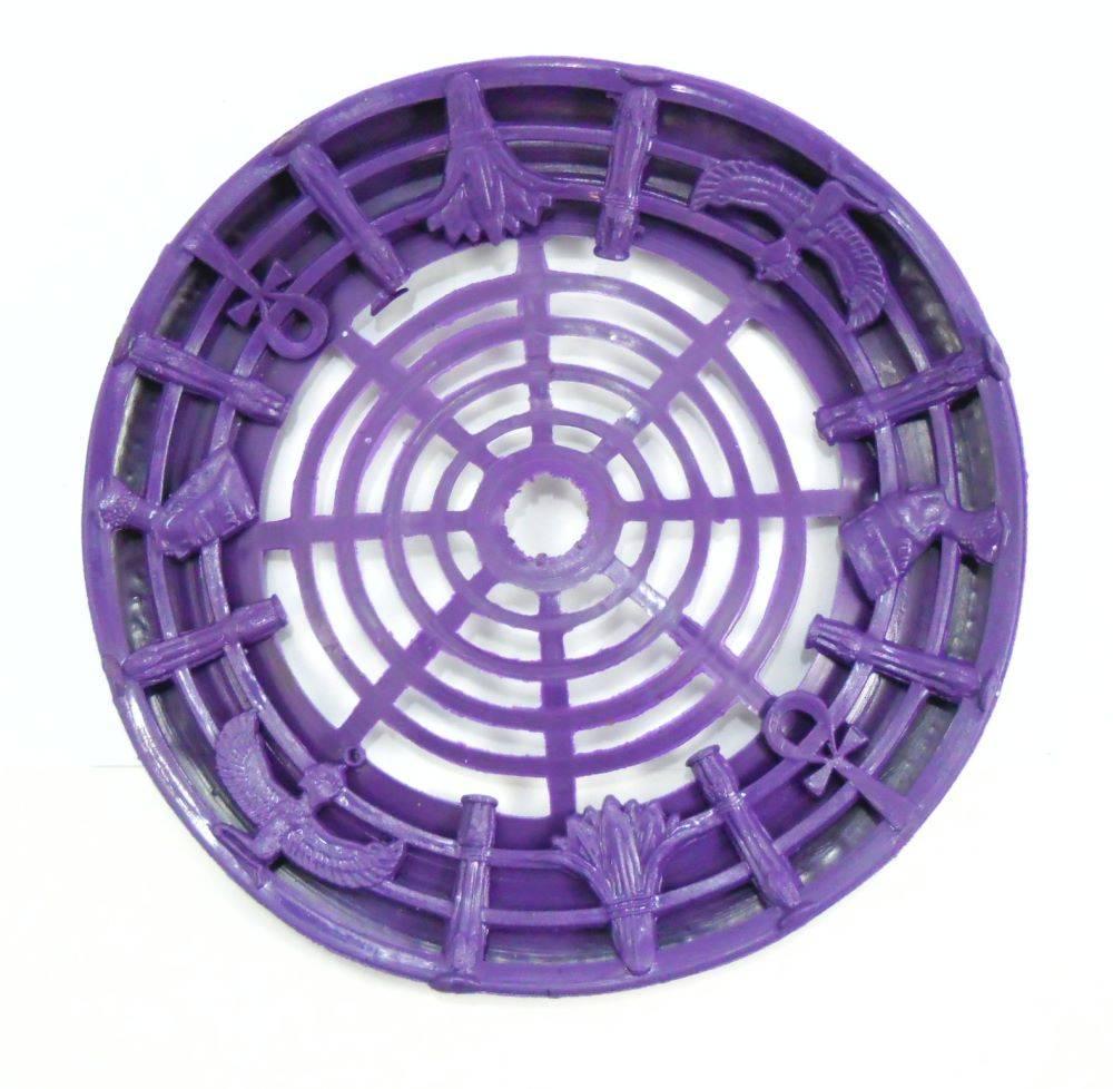 Proteção em borracha de vaso/base formato sino, ideal para narguiles egípcios: KM, ELBA(SH) e etc.