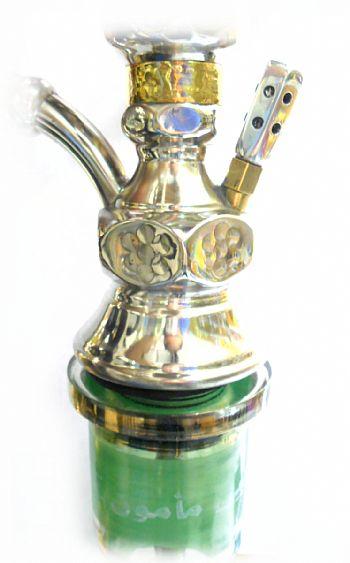 Respiro / Válvula para narguile em alumínio, 12 furos, COMPLETO(encaixe, bolinha e tampa de válvula)