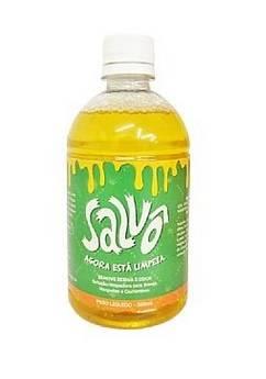 Salvô 500 ml. - Solução limpadora para bongs, narguiles e cachimbos