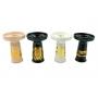 Fornilho/Rosh BETA BOWL c/ desenhos DOURADOS, cerâmica refratária. 10cm altura, 7,3cm bocal.