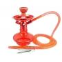 Narguile MD Hookah ALADIN 25cm VERMELHO. Vaso Genie vermelho, stem usinado em alumínio, pintura anodizada, mang. lavável