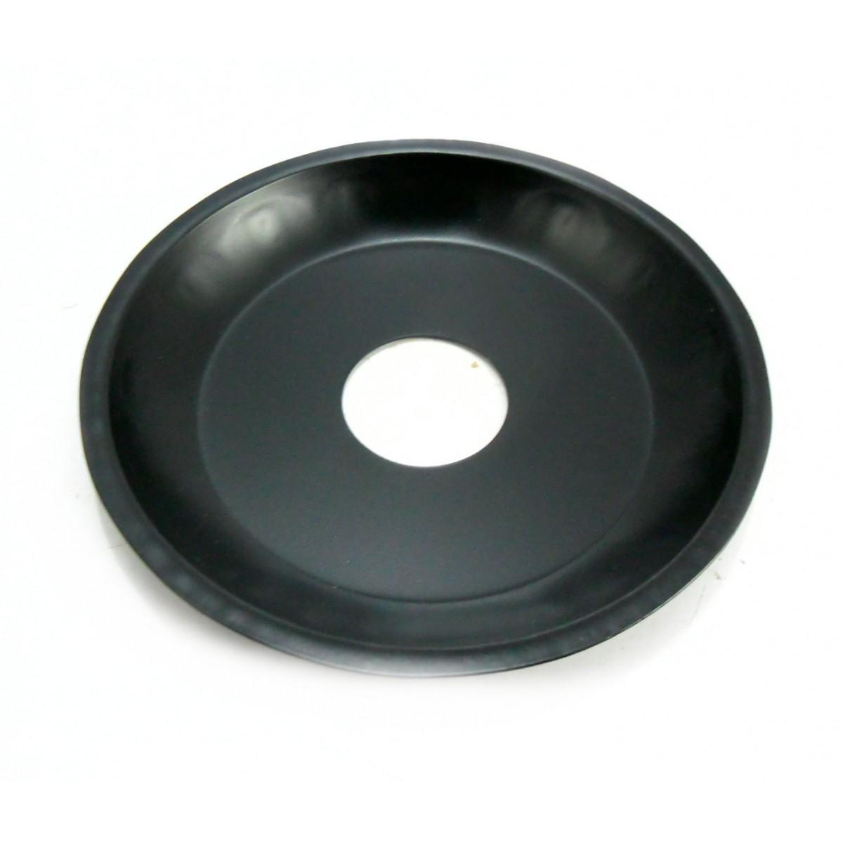 Prato para Narguile 15cm de diâmetro, pintado, 4cm de diâmetro furo.