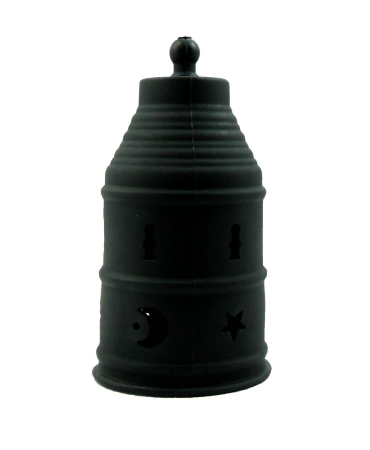 Abafador para narguile marca Rei do Narguile, em silicone. 9,5 cm de diâmetro e 19 cm de altura.