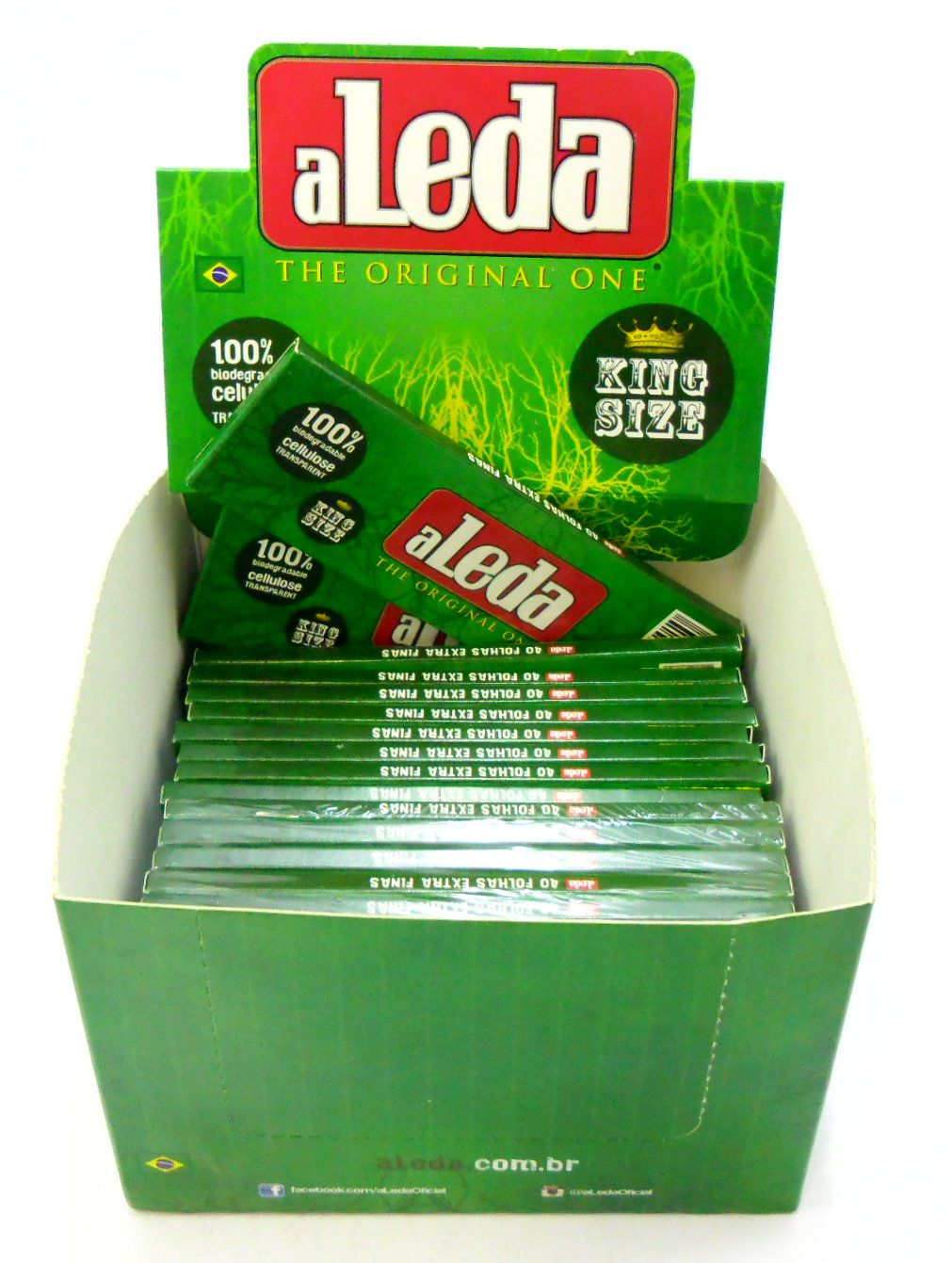 ALEDINHA Celulose Peq. 78mm - Caixa com 24 unidades