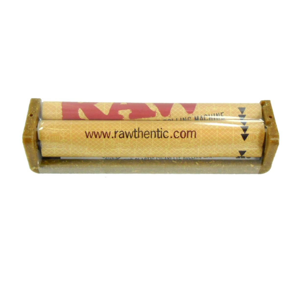 Bolador de fumo / Máquina Para Enrolar Cigarros RAW 110mm, feita de fibras de coco.