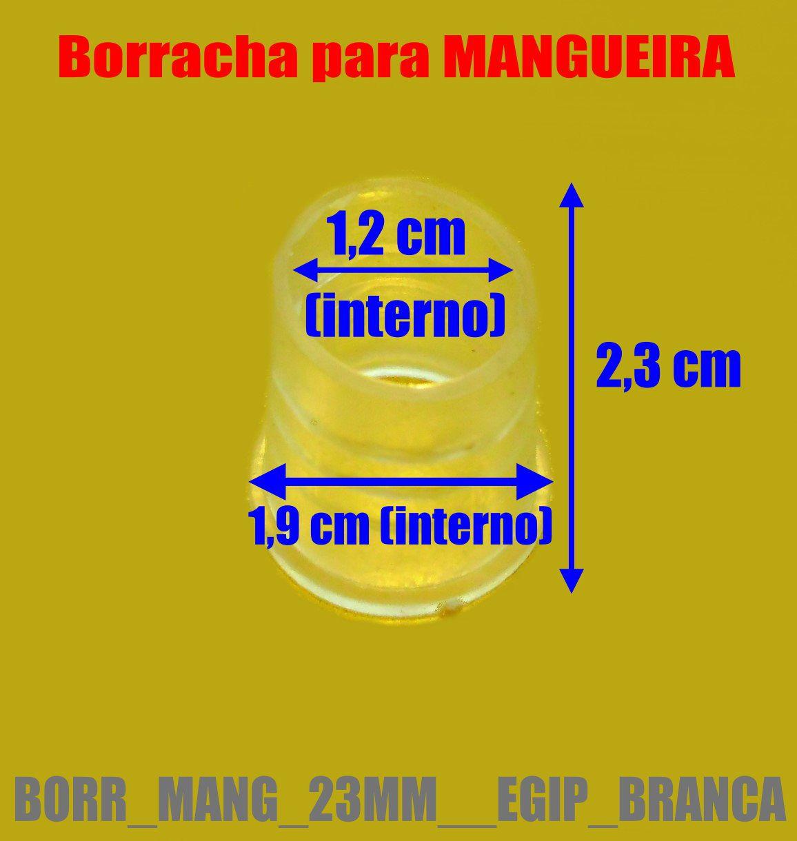 Borracha / Vedação para mangueiras grandes KHALIL MAMMOON (e outros egípcios) - BORR_MANG_23MM__EGIP_BRANCA