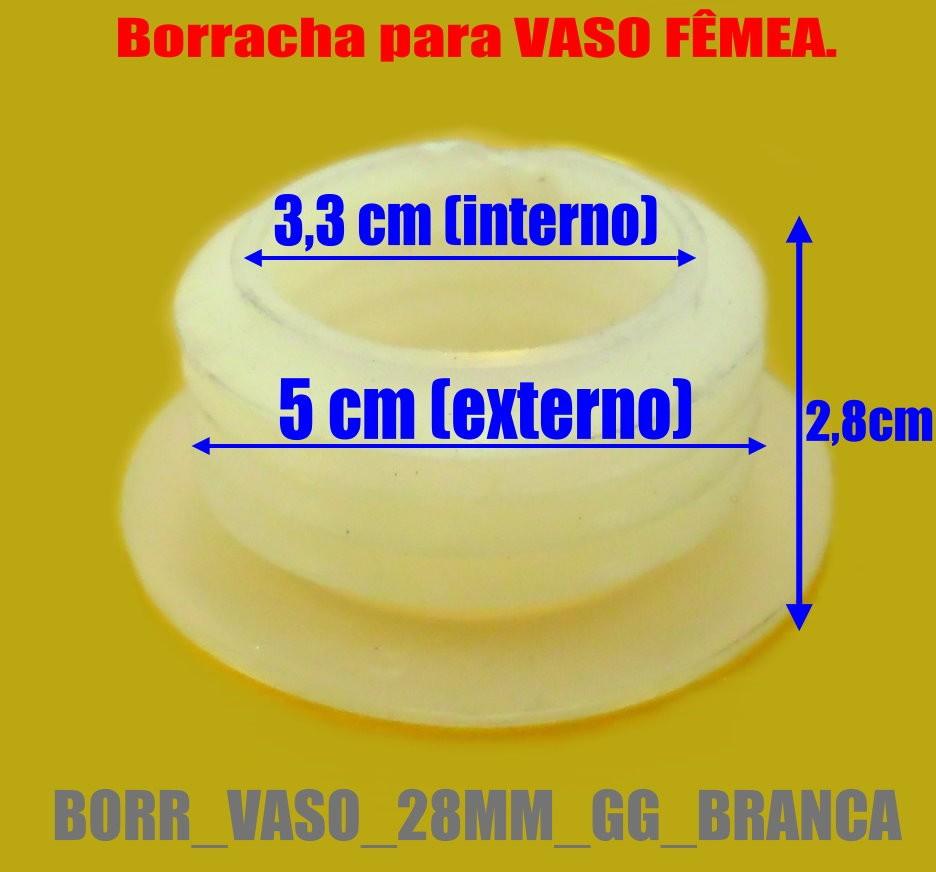 Borracha / Vedação para vasos EXTRA GRANDES.