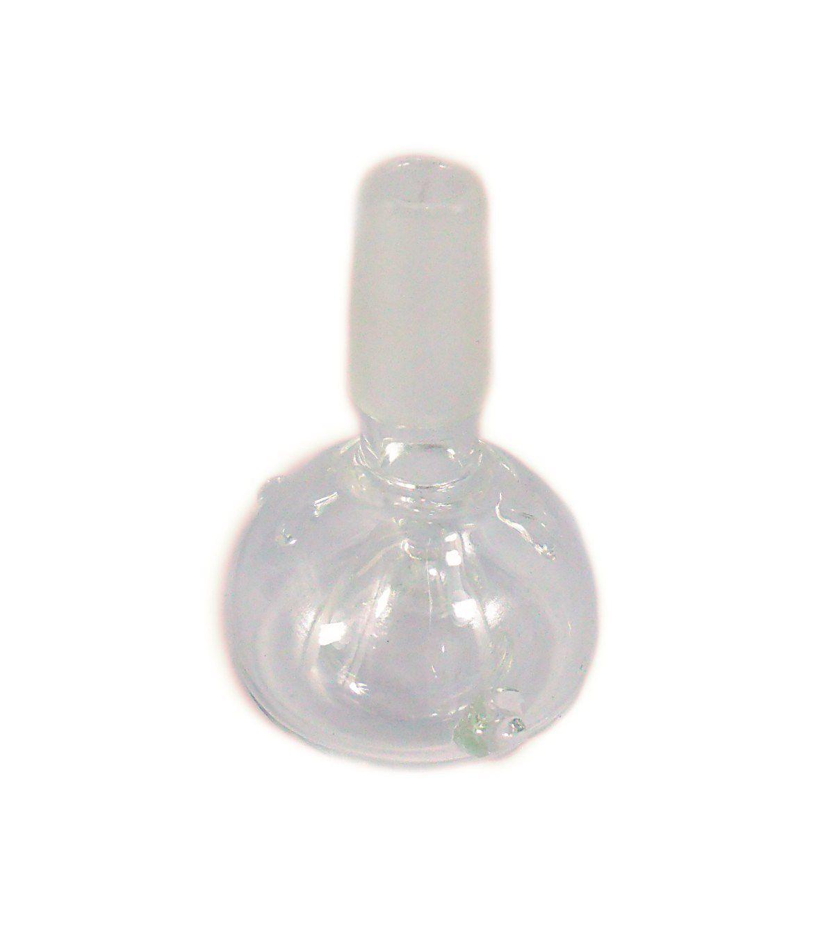 Bowl de vidro em bolha, para bong com percolador