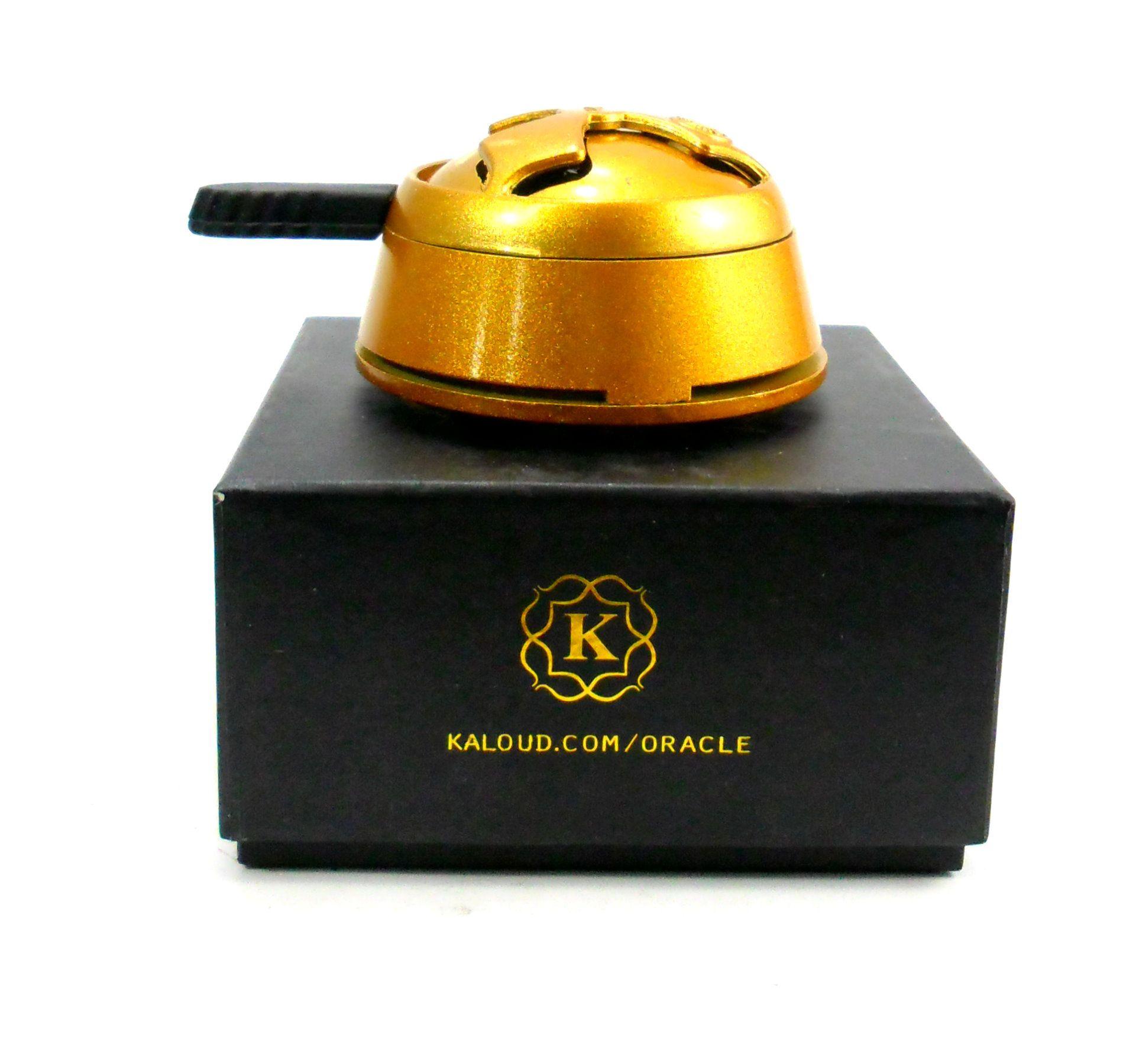 Controlador de calor Kaloud Lotus Oracle MMXIV, colorido, 7,5cm de diâmetro.