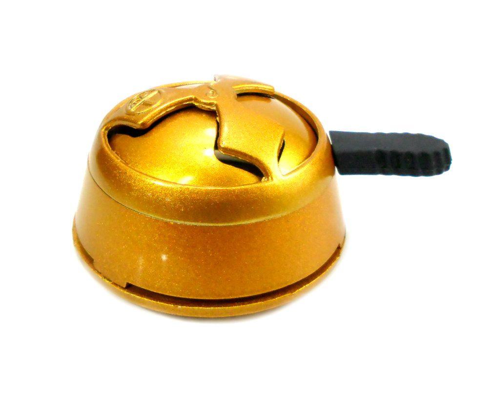 Controlador de calor Kaloud Lotus Oracle MMXIV, colorido, 7,5cm de diâmetro. Dourado