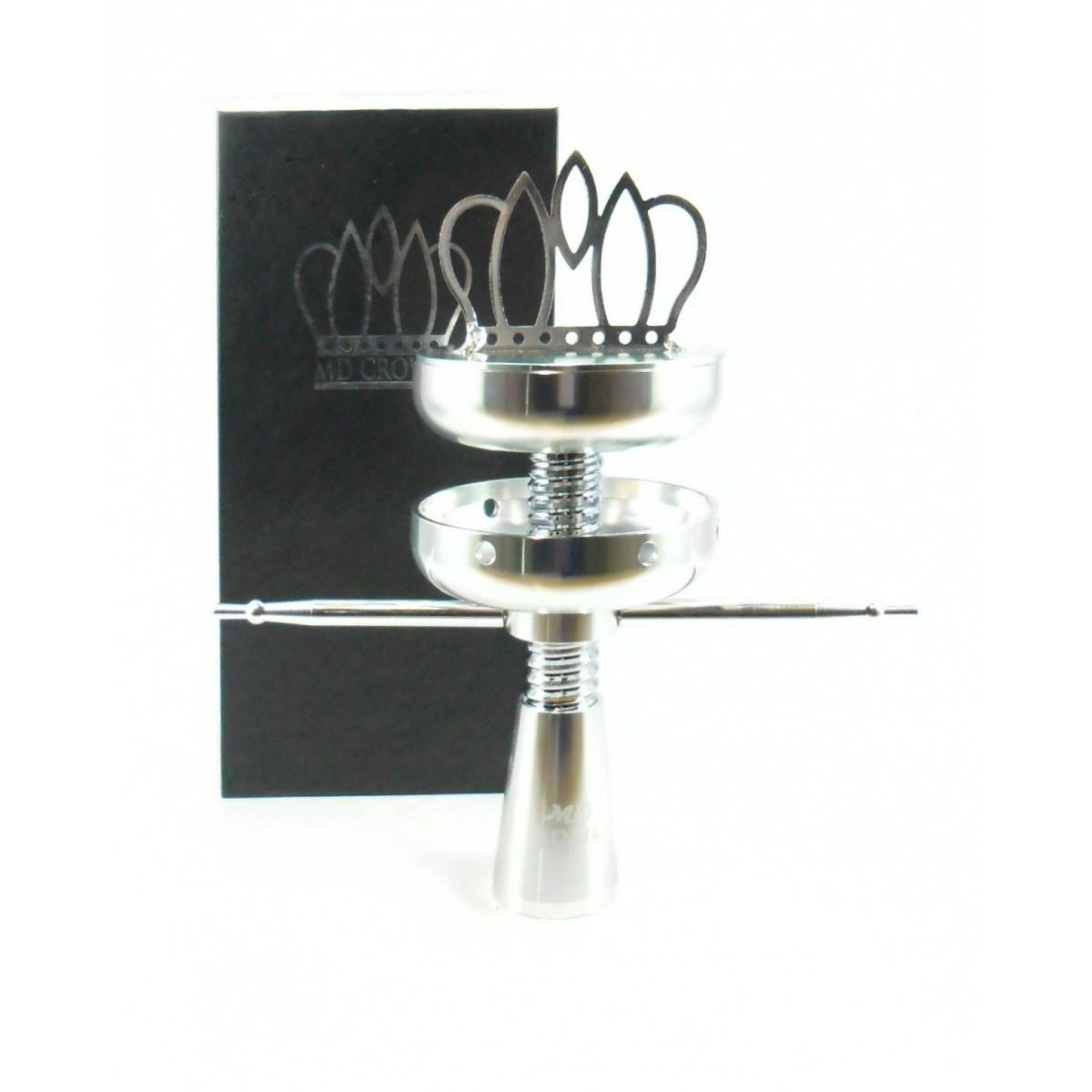 Fornilho invertido em alumínio, com controlador do calor MD CROWN, 18cm.