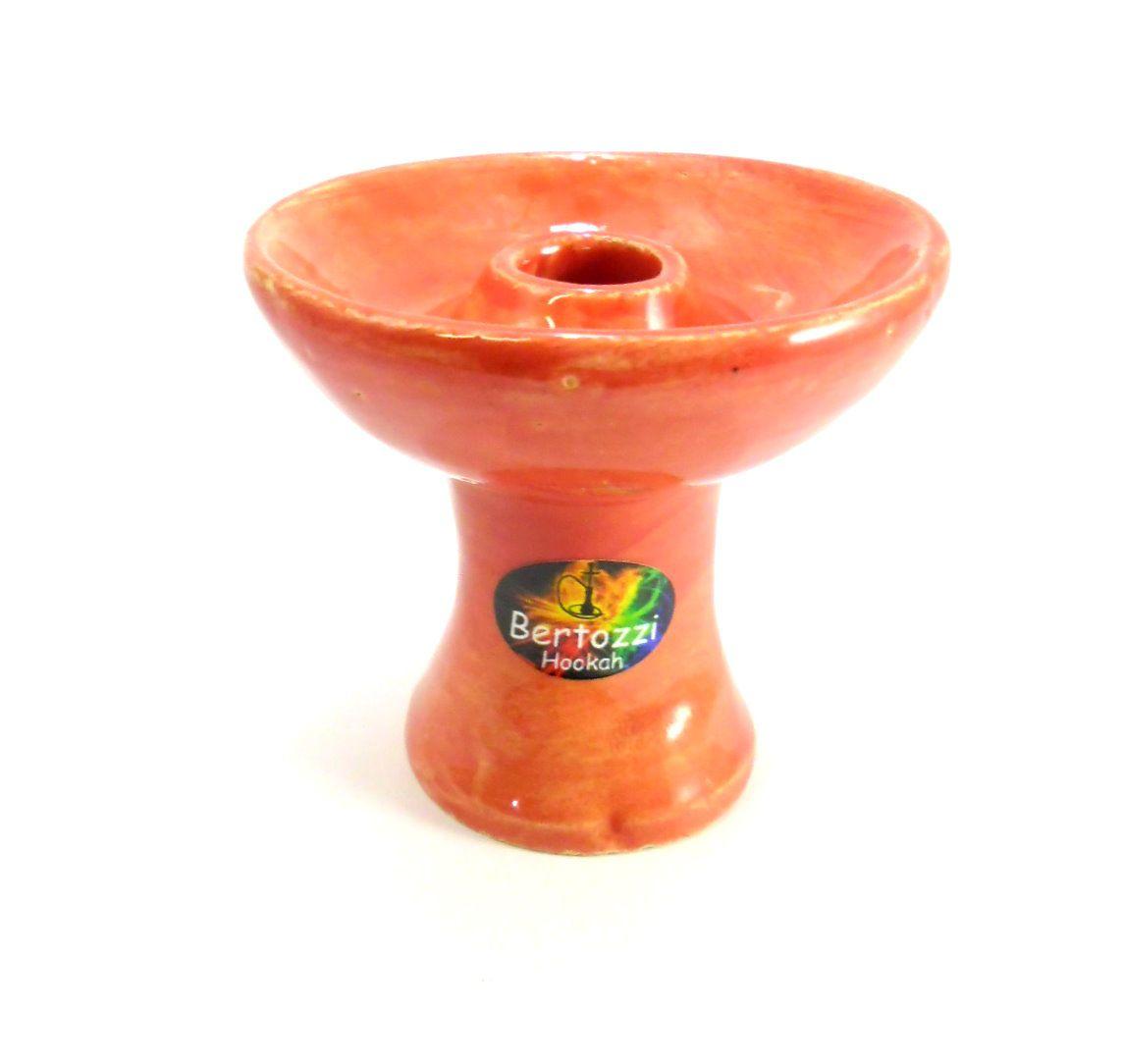 Fornilho/Rosh modelo PHUNNEL/FUNIL marca FULGORE. Em cerâmica, pintura artesanal. 7,5cm alt., 8,0cm diâmetro.