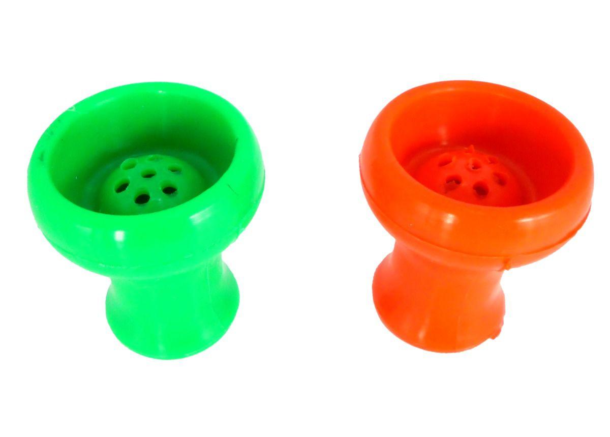 Fornilho/Rosh para narguile de silicone, tipo Vortex, 7cm de diâmetro. Ideal p/ Kaloud.