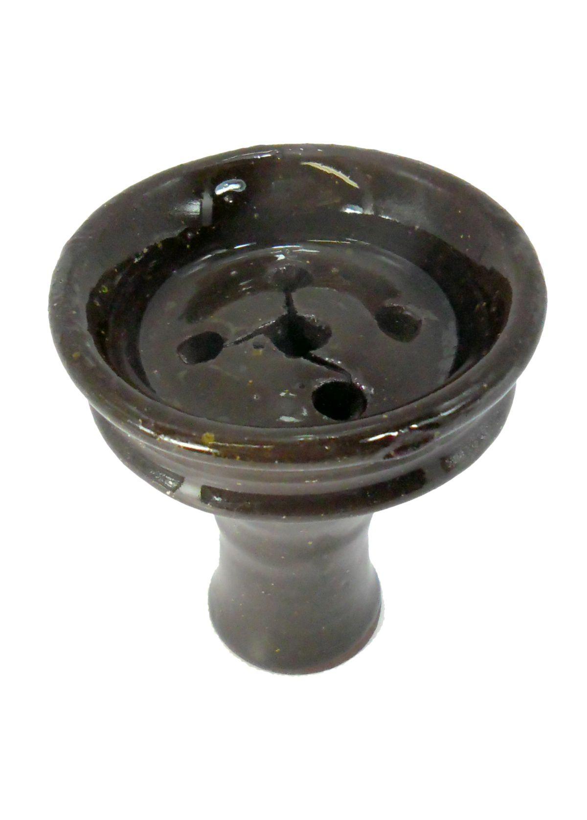 Fornilho/Rosh para narguile egípcio tradicional, em ARGILA COZIDA refratária.Tamanho médio/grande.