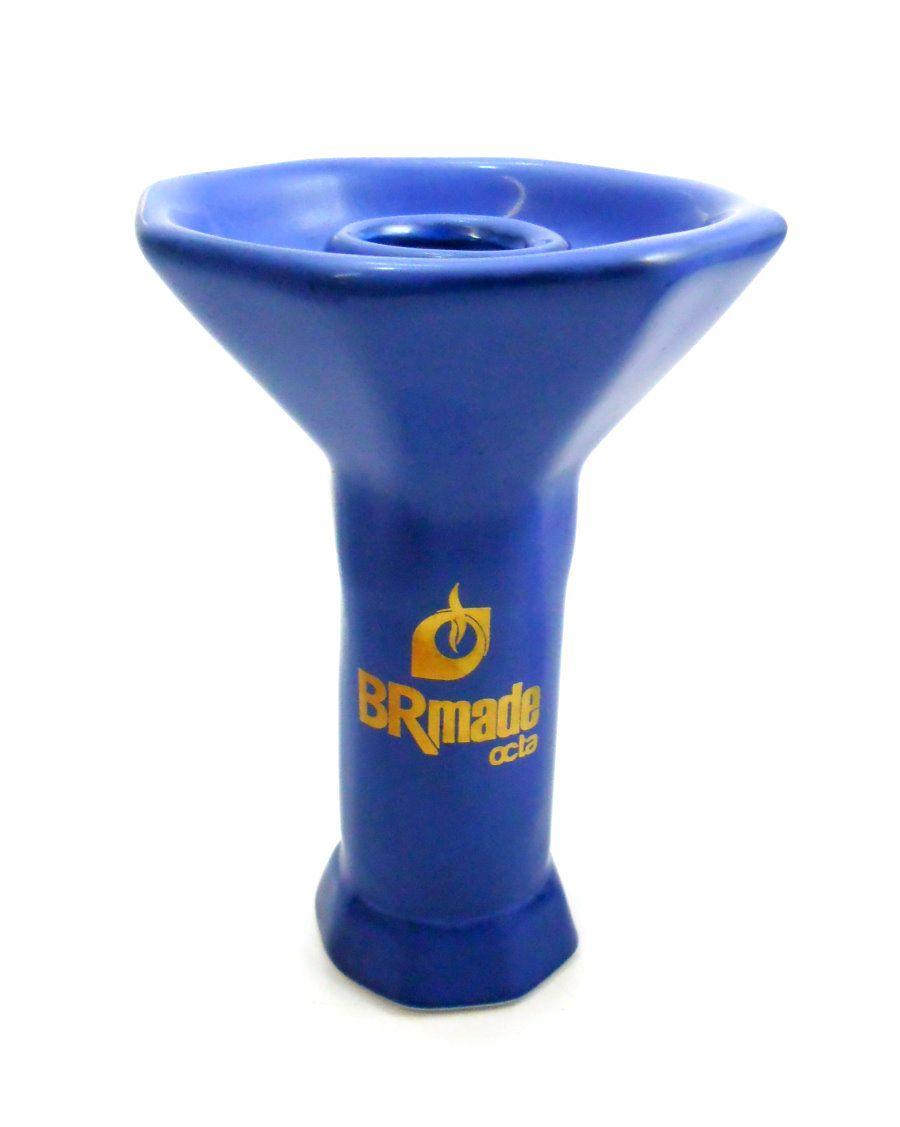 Fornilho/Rosh para narguile (Queimador) BR Made, modelo Phunnel (Funil) 11cm, encaixe tipo fêmea.