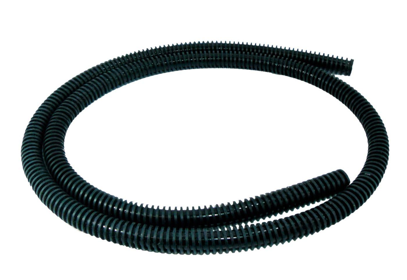 Mangueira p/ Narguile modelo Helix Fulgore, em silicone antichamas com espiral externa. 1,65m.