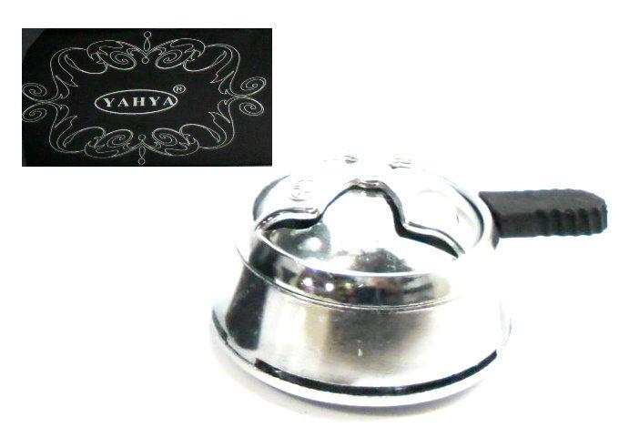 Narguile A69, rosh alumínio cromado e controlador de calor