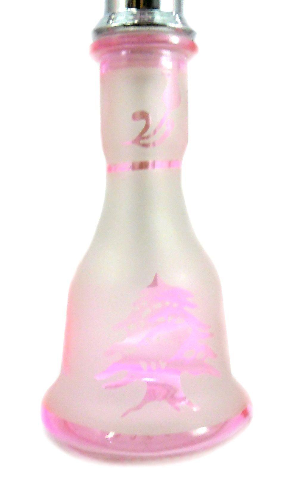 Narguile MD Hookah 55cm C/ MALETA. Duas mangueiras, vidro ROSA jateado, corpo cromado AB542SMALRS
