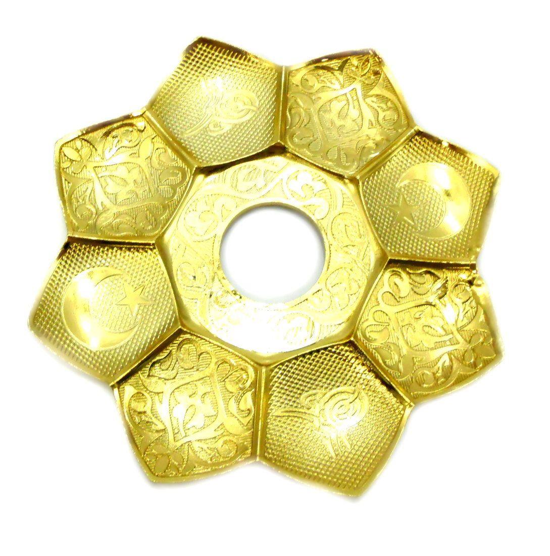 Narguile Híbrido Ranny alumínio, mangueira silicone, piteira dourada, prato dourado, rosh Flux Gold