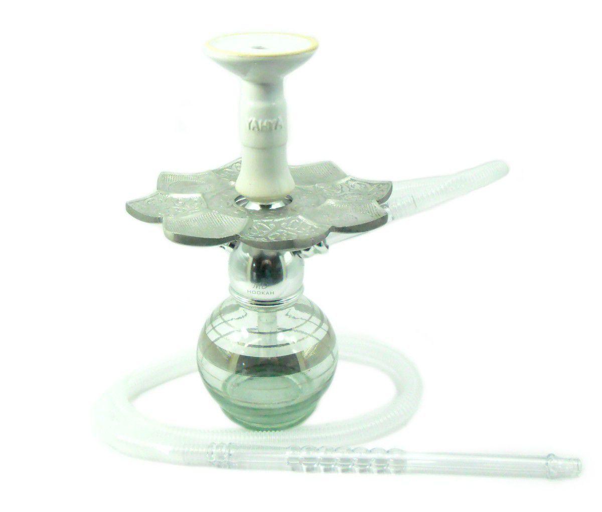 Narguile MD Hookah em alumínio maciço, vaso Ball, mangueira lavável, prato El Nefes, rosh Yahya