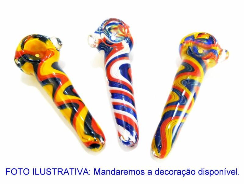 Pipe/cachimbo DO REI em vidro murano, 12 cm. - MURANO 2