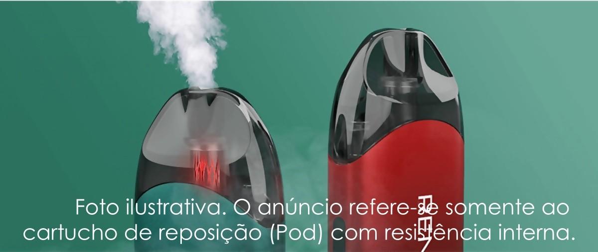 Pod para Vape Vaporesso Renova Zero Mesh (em malha) 1,0 ohm 2ml - 1 UNID.