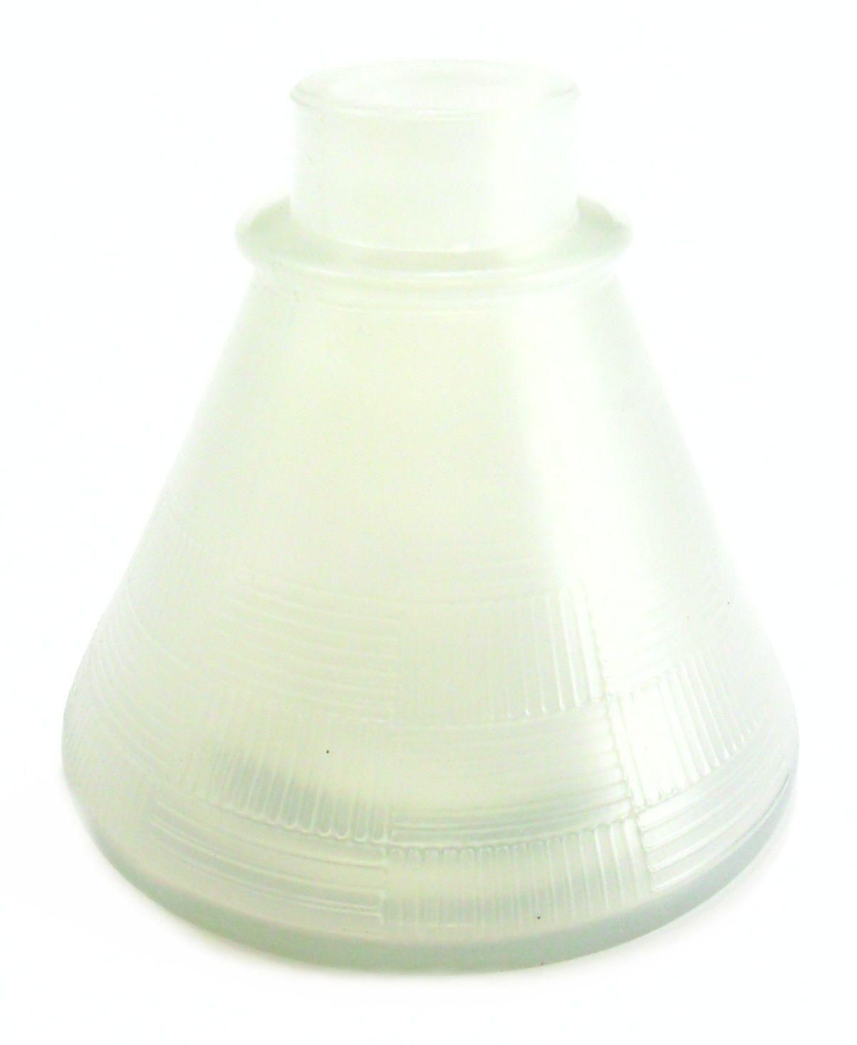 Quatro (4) vasos p/narguile base larga encaixe macho, 11cm alt. P/stems Judith, Triton, Amazon, Mya.