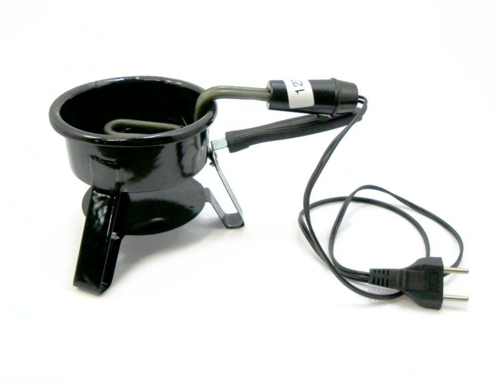 Rosh, mangueira silic. c/piteira e mola, fogareiro e carvão.