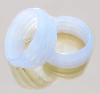 Stem (corpo de narguile) em polipropileno para adaptar em garrafa + Tubo interno + Prato + Vedações. Cor:Preto