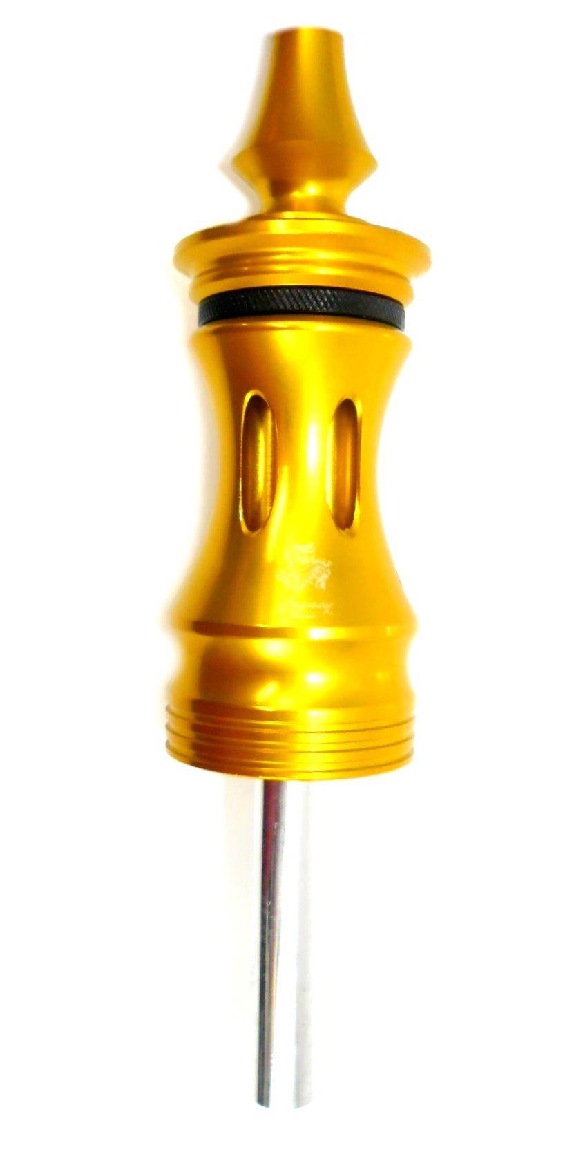 Stem (corpo de narguile) LEGACY FLUSH, em alumínio maciço, 22cm. - Cores Variadas