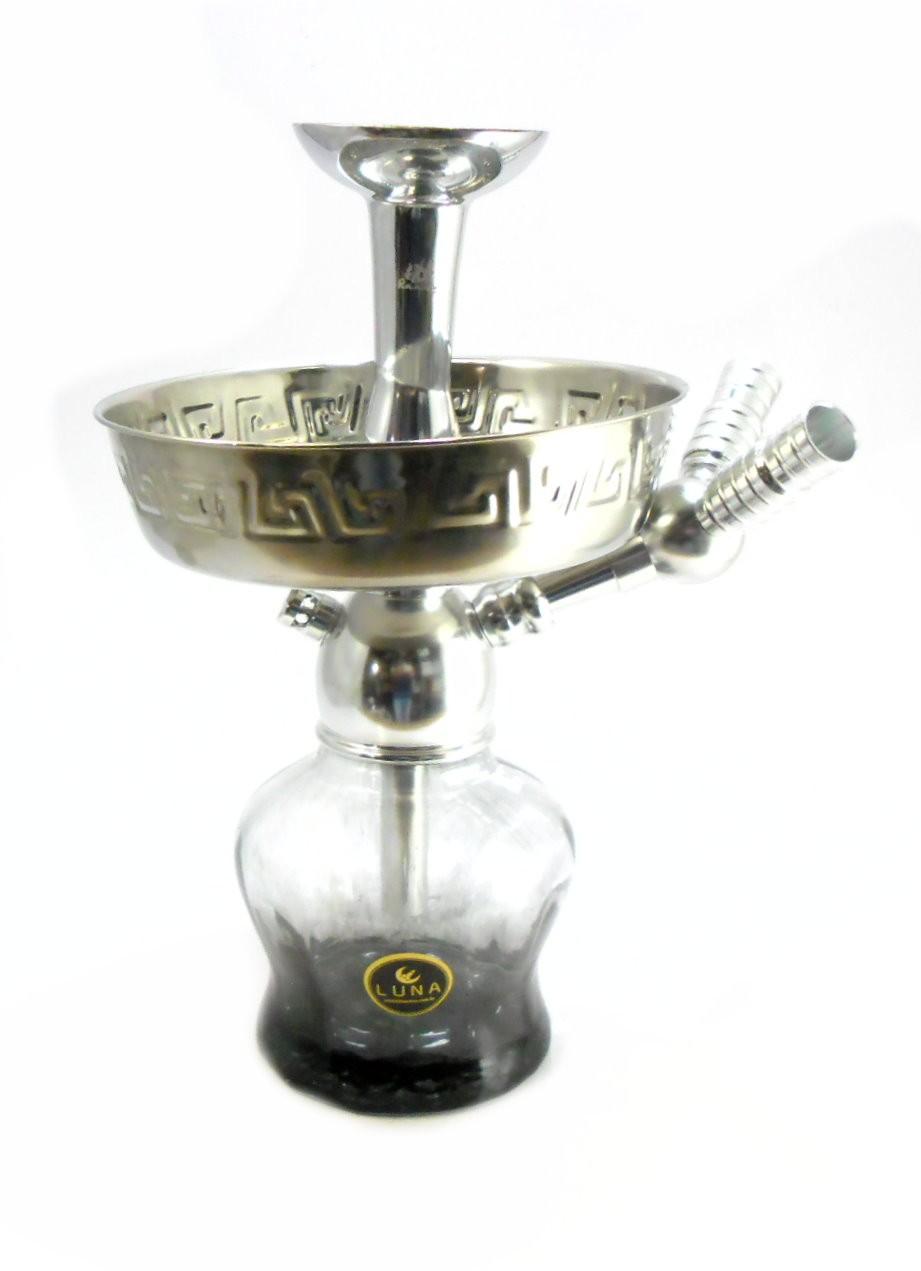 Stem MD cromado, vaso Luna Pump grafite, prato Yahya fundo, rosh alumínio prateado, adaptador mangueiras Y e vedações.
