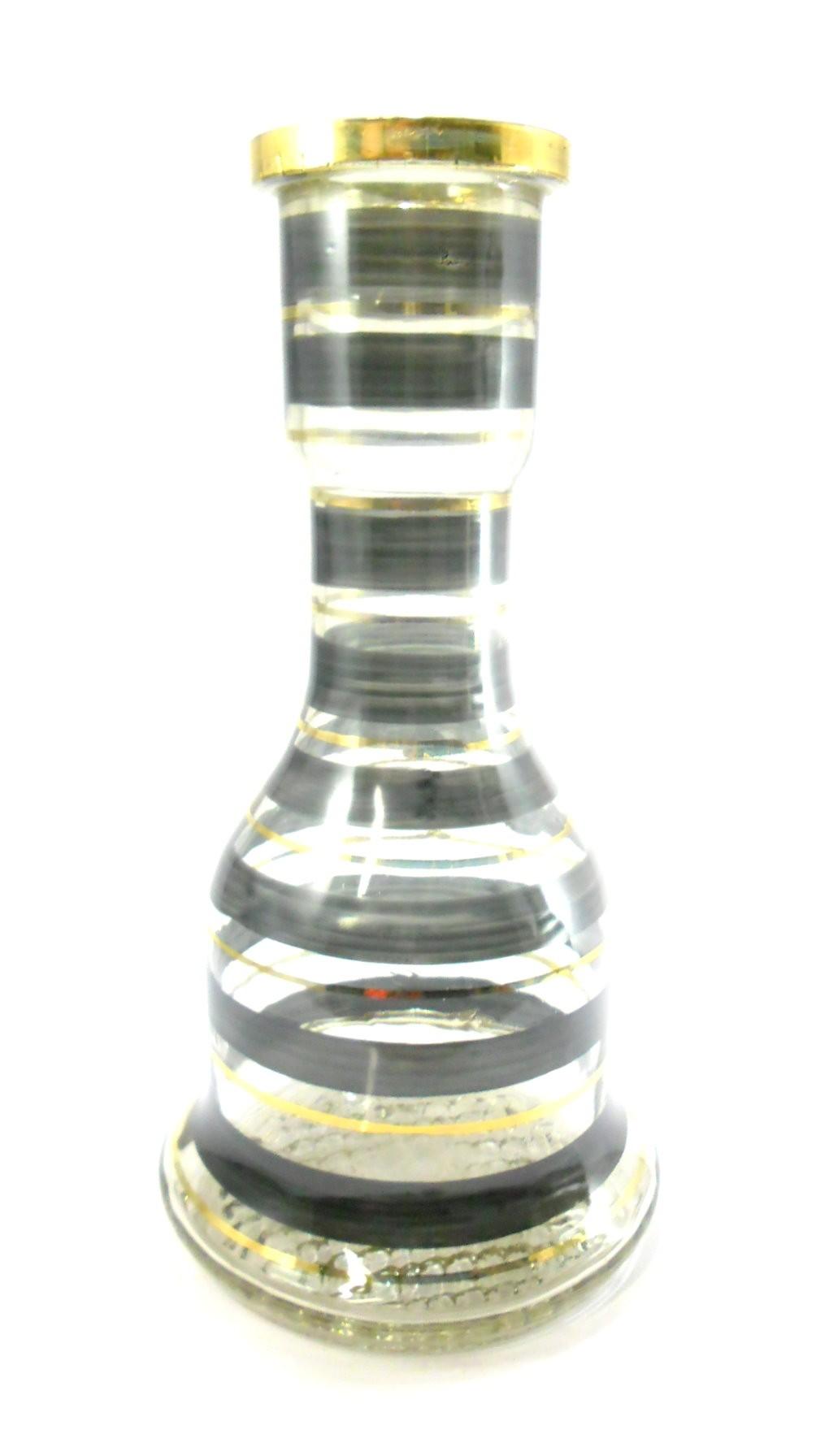 Stem Triton UP e vaso listrado PRETO E DOURADO, prato Pérsia Ouro Velho centro prata. Kit vedações.