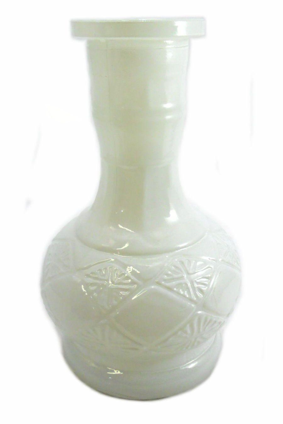 Vaso/base para narguile. 20cm altura e 3,7cm diâmetro do encaixe. Preto, branco ou azul.