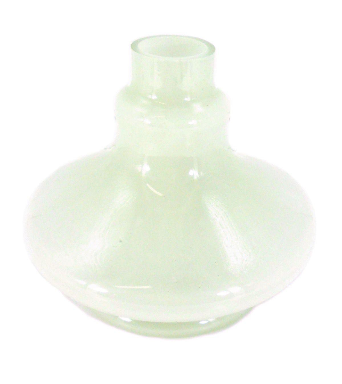 Vaso/base para narguile REI DO NARGUILE, formato ALADIN (14cm alt.). 3,9cm diâmetro bocal.