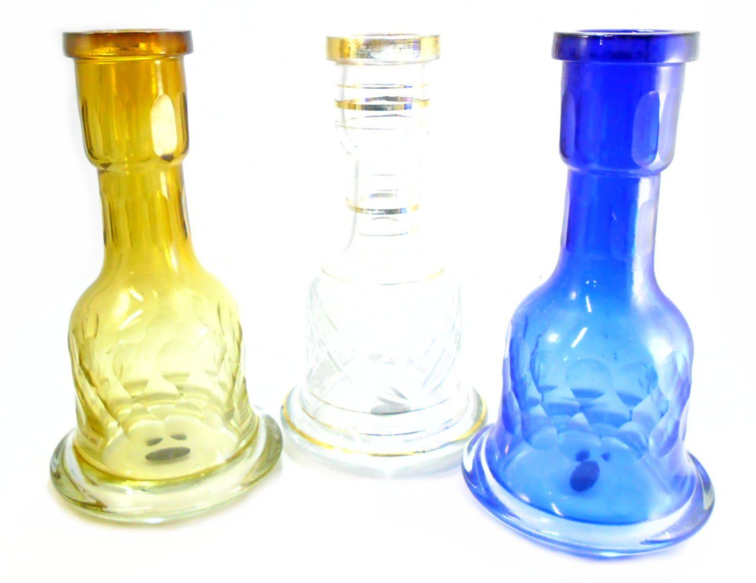 Vaso/base para narguile em cristal, LASER CUT, lapidado a laser, PARA NARGUILES GRANDES. 28 cm alt.