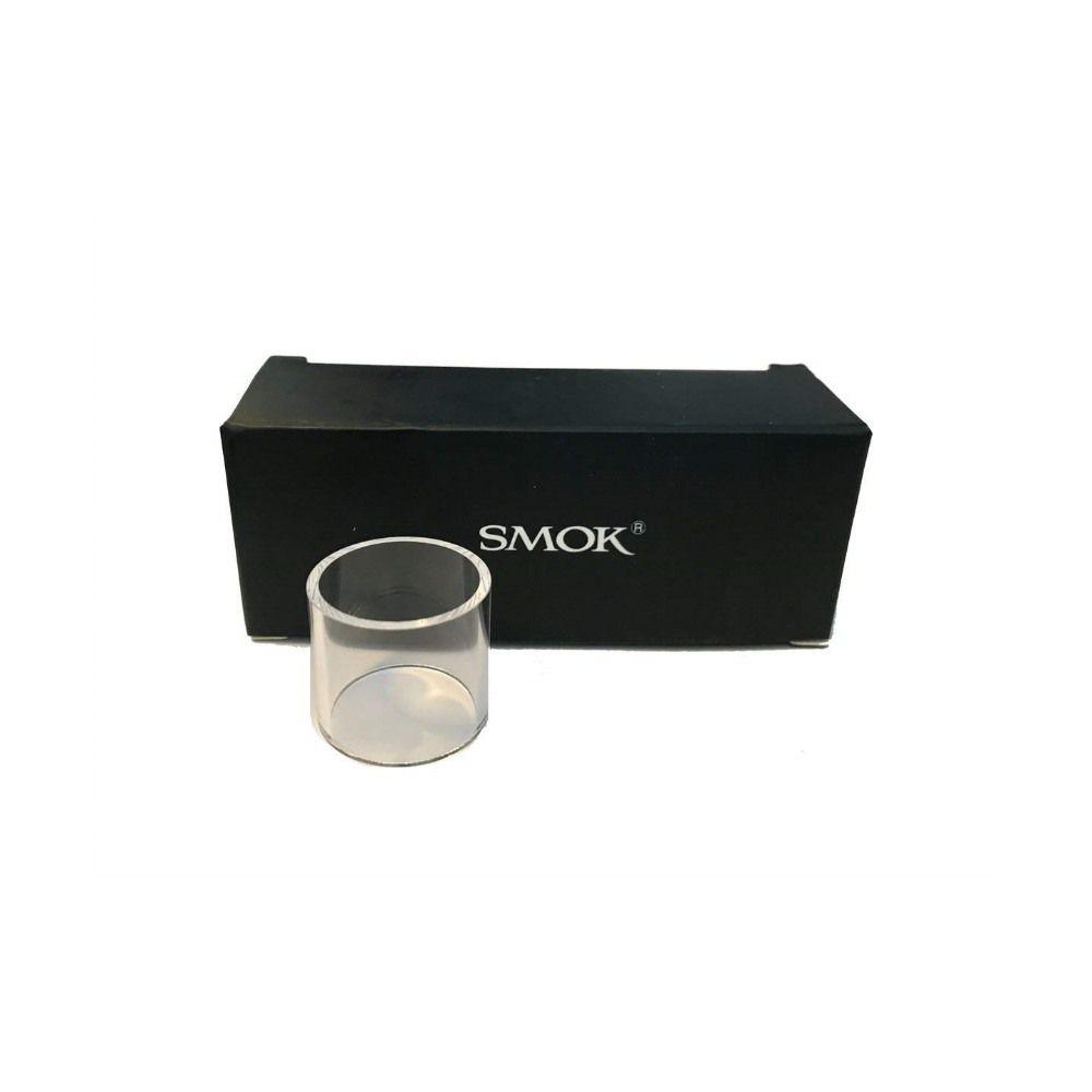 Vidro para vaporizador Smok PEN 22 ou TFV8 Baby. 22mm de diâmetro e 20mm de altura - Uma (1) unidade.