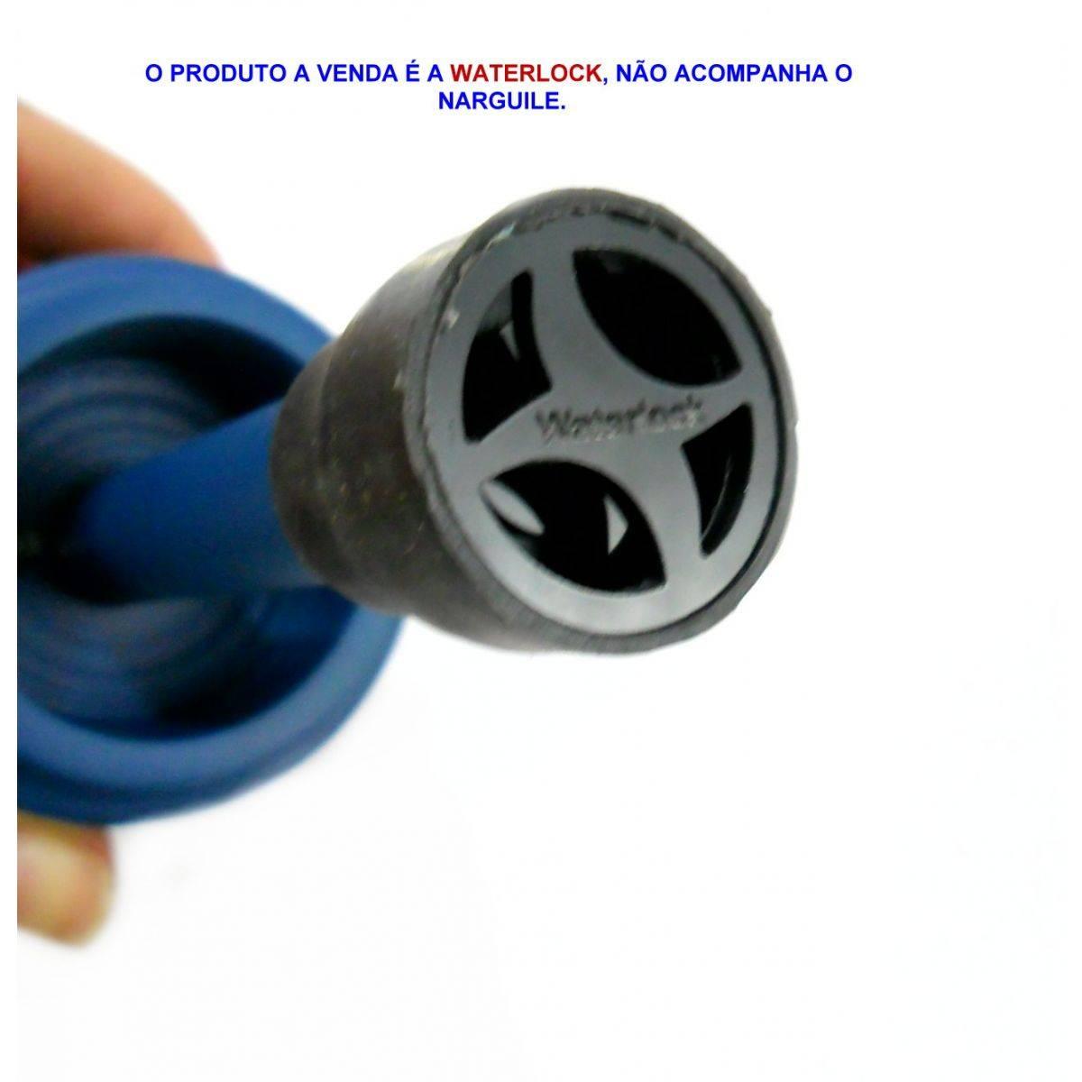 Water lock, evita que suba água pelo tubo. - WATERLOCK Azul