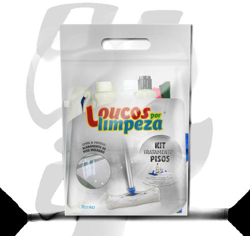 Kit Tratamento de Pisos - Loucos por limpeza  - Planet Limp