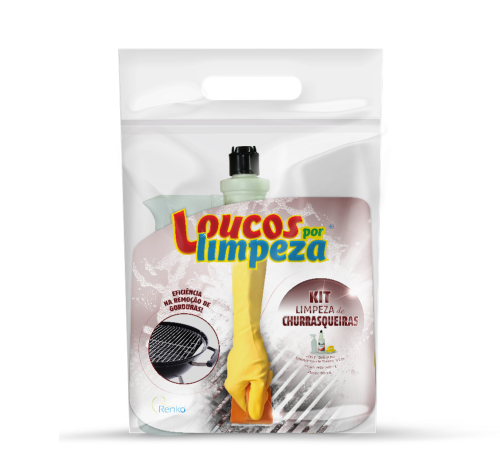 Kit Churrasqueira - Loucos por limpeza  - Planet Limp