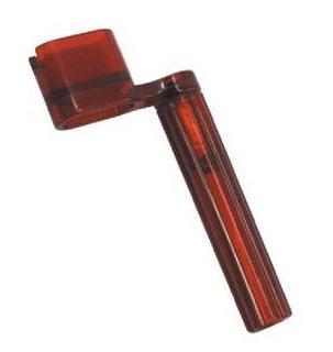 "Encordoador tipo ""manivela"" cor vermelha - Alice (Modelo A009)  - Luthieria Brasil"