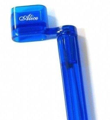 """Encordoador tipo """"manivela"""" cor azul - Alice (Modelo A009)  - Luthieria Brasil"""