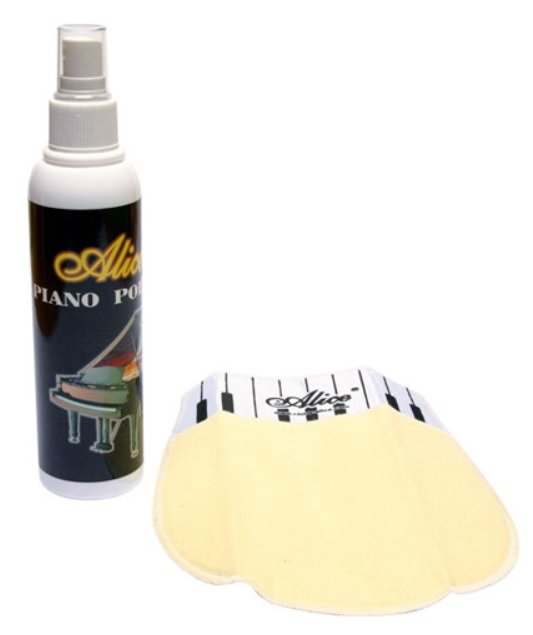 Kit Polidor + Flanela para Piano - Alice (A039PP)  - Luthieria Brasil