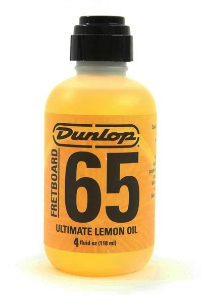 Óleo de Limão para Limpeza/Hidratação de Escalas - Dunlop - 118ml  - Luthieria Brasil