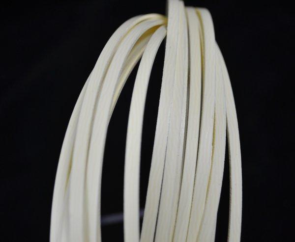 Binding (filete) marfim (onda) (140cm x 4mm x 1.5mm)  - Luthieria Brasil