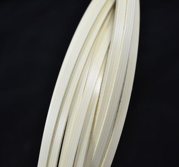 Binding (filete) marfim (listra) (140cm x 4mm x 1.5mm)  - Luthieria Brasil