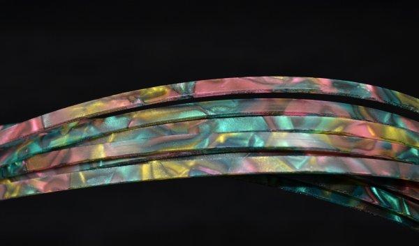 Binding (filete) estilo abalone (140cm x 4mm x 1.5mm)  - Luthieria Brasil
