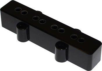 Capa preta de plástico para captador de Jazz Bass (Ponte) - Spirit  - Luthieria Brasil
